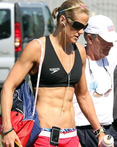 Dara Torres and her insane abs