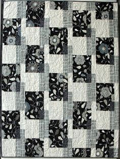 Modern Quilt Relish: Urbanicity Fabric + Flatbread Pattern = Recipe for new Modern Quilt Relish Sample