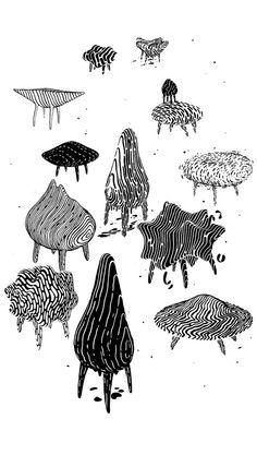 "Preview: Brendan Monroe's ""Blobography"" at Heath Ceramics | Hi-Fructose Magazine"