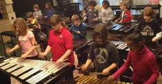 The Louisville Leopard Percussionists is a non-profit organization for kids 7-12 years old and local musicians. And this program must be doing some amazing work because these kids are talented! They will wow you as they rock out on this classic rock tune! How cool is this?