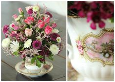 Great idea for flowers and vintage finds.