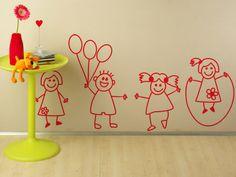 juego de niños- vinilo decorativo Infantiles Elementary 1 --Day 6