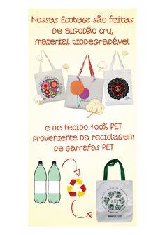 Como são feitas as nossas lindas Ecobags!    http://www.revendaamaterra.com.br/loja/espaco-juliajulia