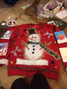 Tacky Christmas sweater!!