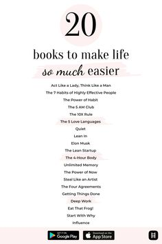 Inspirational Books To Read, Inspirational Quotes, Reading Lists, Book Lists, Book Club Books, Good Books, Self Development Books, Positive Self Affirmations, Self Care Activities