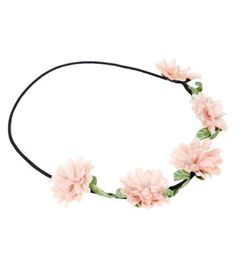pretty pink rose headpiece from new look i love it! Teen Guy Fashion, Teen Pink, Rose Garland, Pretty In Pink, Headpiece, New Look, Fashion Online, Pastel, Accessories