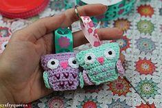 Hoot hoot! Owl keychain by Crafty Queens Tutorial -Teresa Restegui http://www.pinterest.com/teretegui/ ✔