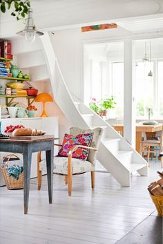 A Swedish home with a relaxed, boho vibe