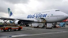 Passengers panic as Med-View plane develops fault (Read full details)