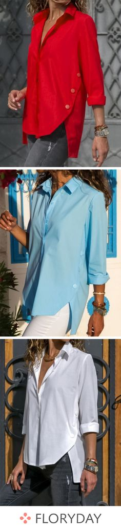 ideas for sewing clothes dresses woman outfit Blouse Styles, Blouse Designs, Mode Outfits, Casual Outfits, Skirt Fashion, Fashion Outfits, Fashion Clothes, Style Clothes, Style Fashion