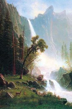 Yosemite Falls . High quality vintage art reproduction by Buyenlarge. One of many rare and wonderful images brought forward in time. I hope they bring you pleasure each and every time you look at them