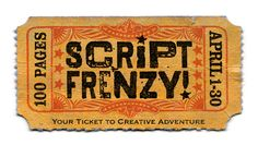 Script Frenzy: a spinoff from NaNoWriMo, with the main difference that during Script Frenzy, your goal is to write a 100-page script for film, tv, radio, game, etc. This program got discontinued after its last run in April 2012.