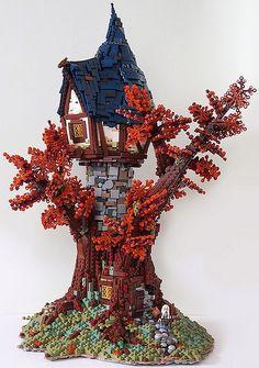 LEGO Tree House by Legonardo Davidy