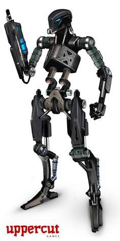 Epoch_Robot ---minimalist,but I like it.