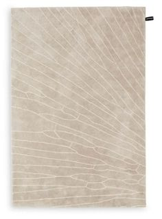 Gingko Rug (see website for dark gray brown w black lines, 6x9 @ $1890. Saw in showroom. Colors not right