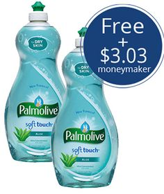 Free Palmolive Dish Soap + $3.03 Moneymaker at Walmart!