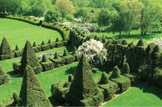 Ornamental shurbs are scattered across 22 acres in Monkton, Maryland. Photograph courtesy of Ladew Topiary Gardens. Architectural Digest, Baltimore, Great Places, Places To See, Beautiful Places, Va Day, Topiary Garden, Terrace Garden, Washington Dc Travel