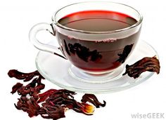 HIBISCUS TEA ~ The natural chemicals in the drink also are thought to battle heart issues, including hypertension. They also might promote digestive and bowel regularity, water control, and weight loss and management.