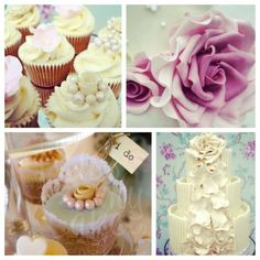 vintage wedding cupcakes & cakes Kissmycake.co.uk
