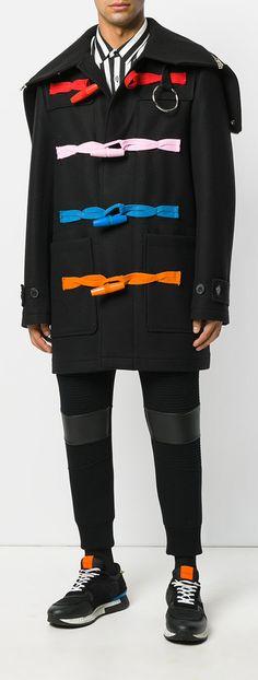 GIVENCHY  classic duffle coat, explore new season coats on Farfetch now.