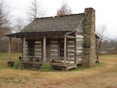 Log Cabin ~ Tuscumbia, Alabama