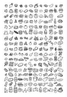 Matt Johnstone illustration, Love Food Hate Waste