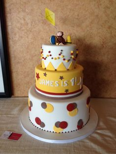 Amy Beck Cake Design - Chicago, IL     Curious George      #amybeckcakedesign  http://www.amybeckcakedesign.com/