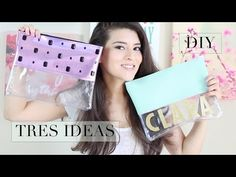 YouTube Craft Bags, Shopper, Diy Clothes, Diy And Crafts, Ipad, Pouch, Purses, Sewing, Youtube