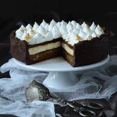 Tříčokoládový cheesecake - nechať odležať
