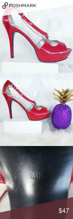 Red Stiletto Pumps Sandles GUESS Size 8.5 Shoes Hotter than ever this season! A dose of chicness to your everyday wardrobe. Comfortable go with just about everything. Super easy to dress them up or down. Absolutely stunning   . Size 8.5  . Brand  Guess  . Condition Good   . Color red silver  . Bundle & SAVE 25% off 🍍  . Reasonable offers welcome😃  No additional shipping charge when you purchase more from my closet   Every purchase will be packed with Care & a Special FREE GIFT 🎁   🍍 25%…