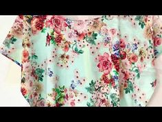 YouTube Textile Patterns, Clothing Patterns, Sewing Patterns, Sewing Projects, Projects To Try, Girl Dress Patterns, Creation Couture, Pattern Drafting, Sewing Clothes