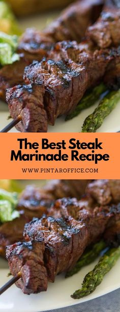 The Best Steak Marinade Recipe - Easy Recipe Dinner Steak Marinade For Grilling, Steak Marinade Recipes, Marinated Steak, How To Grill Steak, Beef Recipes, Cooking Recipes, Recipe To Marinate Steak, Marinades For Steak, Rib Marinade