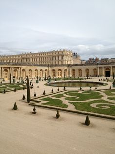 Versailles. The most beautiful palace in the world. Can't wait to walk through these halls next year