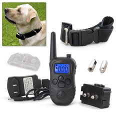 Electric Trainer Waterproof Remote Pet Safe Dog Shock Collar Training * More info could be found at the image url. (This is an affiliate link and I receive a commission for the sales) #MyPet