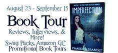 IMPERFECTION by Phaedra Seabolt #giveaway Absolutely loved this book! After an attention grabbing prologue, this books never stops.