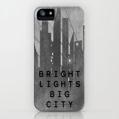 Bright Lights Big City iPhone Case by Ally Coxon - $35.00
