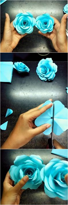 Easy and Realistic Paper Rose – Neesly