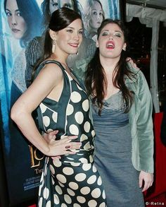 Half-sisters actress Liv Tyler (whose mother is model and singer Bebe Buell) and Mia Abagale Tallarico, better known as Mia Tyler, actress, model, public speaker and advocate. She is the daughter of Aerosmith lead singer Steven Tyler, and actress Cyrinda Foxe. Mia Tyler, Liv Tyler 90s, Steven Tyler, Bebe Buell, Aerosmith, Brigitte Bardot, Beautiful One, Family Business, Strike A Pose