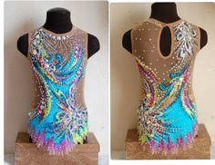 Leotard for rhythmic gymnastics for SALE! Used, in excellent condition. Height 116-122 cm. The leotard is placed in United States. Please…