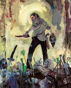 Rich Pellegrino Art and Illustration, AMC's Officially licensed The Walking Dead show...