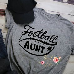 This listing includes FREE first class shipping. Please message me for rates for priority or expedited shipping. Show your love for the game with a custom t-shirt.  Shirts are available in unisex and ladies relaxed t-shirt. Please view the attached photos for size measurements. It is best to lay Football Mom Shirts, Football Quotes, Football Fans, Quote Shirts, Shirts With Sayings, Cricut Craft, Cricut Ideas, Footballers Wives, Cricut Help