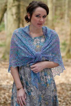 Lace Shawl Pattern by Anniken Allis