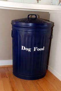 dog food container home decor and decorating pinterest. Black Bedroom Furniture Sets. Home Design Ideas