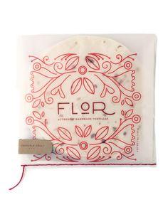 Flor: Tortilla Packaging on Packaging Design Served