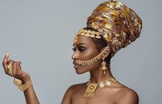 """""""The philosophy is very simple; you keep your head wraps high, and your heads even higher. In every woman is a Goddess waiting to be unleashed. African Beauty, African Women, African Fashion, Turbans, Black Women Art, Beautiful Black Women, Bracelet Labradorite, Hippie Goddess, New Yorker Mode"""