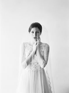 Graceful and elegant bridal inspiration