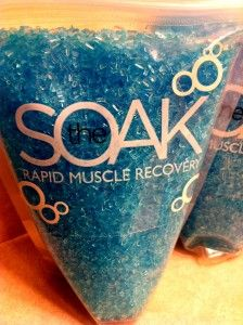Soak Fitness crystals review. #fitfluential