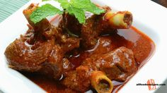 Indian Mutton Curry – This is a fabulous recipe that will make everyone grave to eat. It's an authentic Indian mutton or lamb curry, the best way to get it  RECIPE : http://www.allfoodsrecipes.com/recipe/indian-mutton-curry