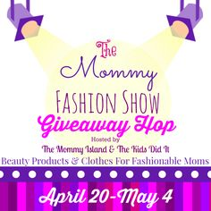 Susie's Reviews and Giveaways: The Mommy Fashion Show Giveaway Hop #MomFashion