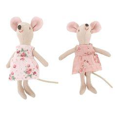 Maileg Two girl mice at alexandalexa.com